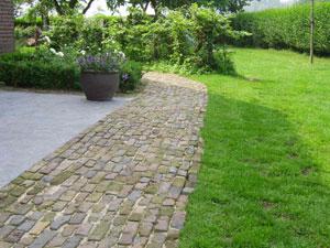 Sierbestrating voorbeelden - Voorbeeld van terras ...