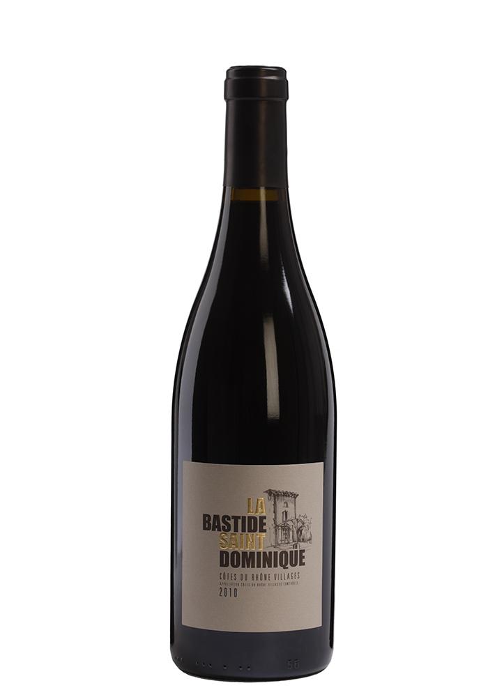 Rode wijn: Domaine La Bastide Saint Dominique rouge 2018