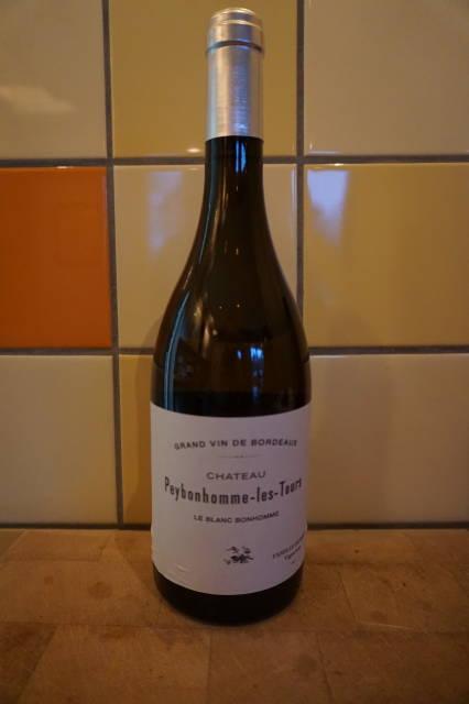 Witte wijn: Chateau Peybonhomme les Tours Le Blanc bonhomme