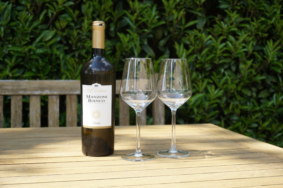 Witte wijn: Manzoni bianco bio 2018