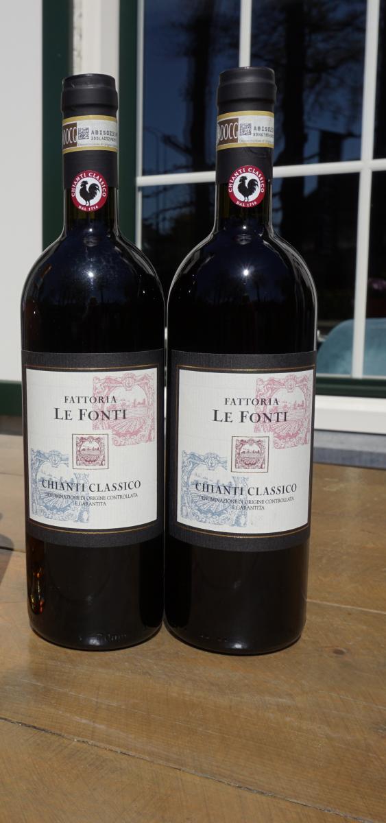 Rode wijn: Le Fonti Chianti Classico