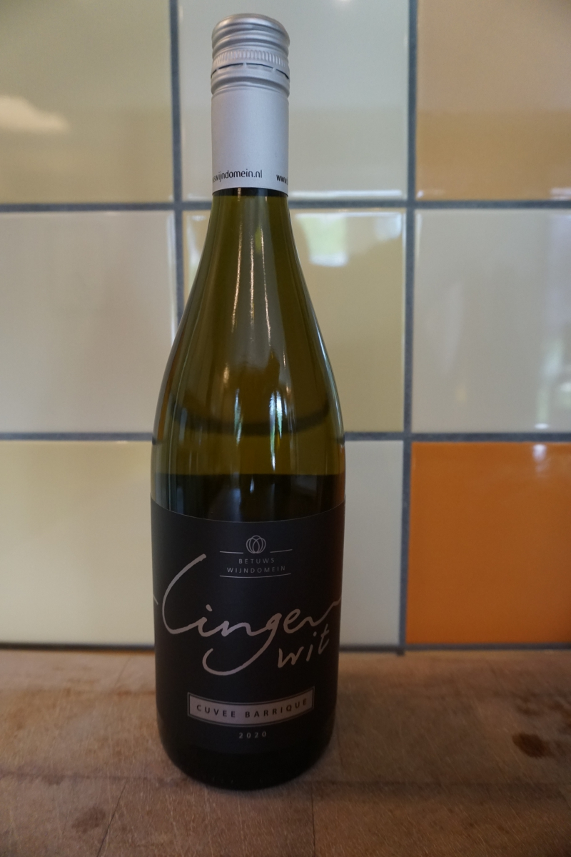 Witte wijn: Linge wit Cuvee Barique 2020