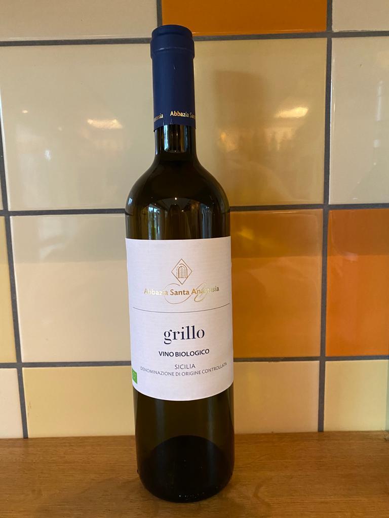 Witte wijn: Abbazia Santa Anastasia Grillo
