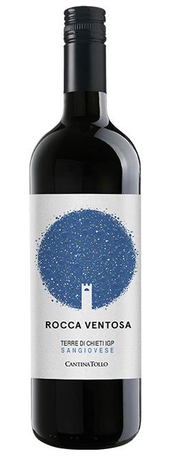 Rode wijn: Tollo Rocca Ventosa Sangiovese 2018