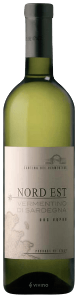 Witte wijn: Vermentino di Sardegna 'Nord-Est' 2019
