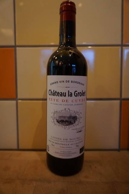 Rode wijn: Château La Grolet Tête de Cuvée 2017