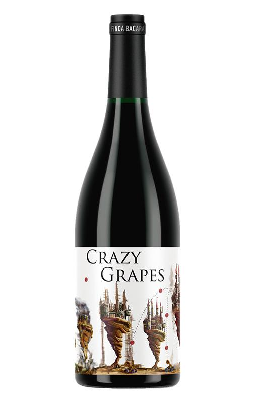 Rode wijn: Finca Bacara, Crazy Grapes 2019