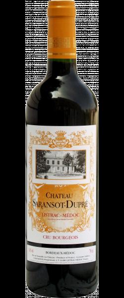 Rode wijn: Château Saransot Dupré 2013