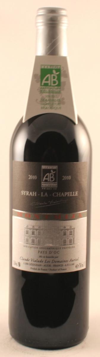 Rode wijn: Auriol Syrah-la-Chapelle 2015