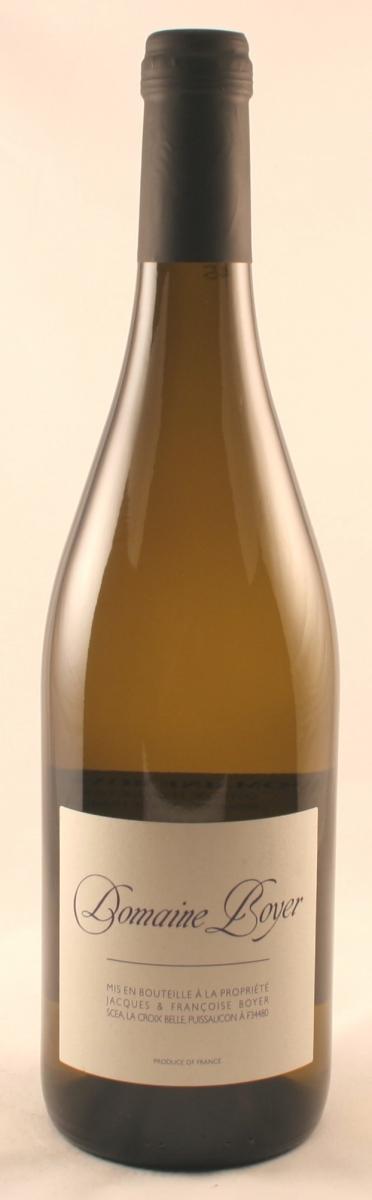 Witte wijn: Boyer Chardonnay 2016