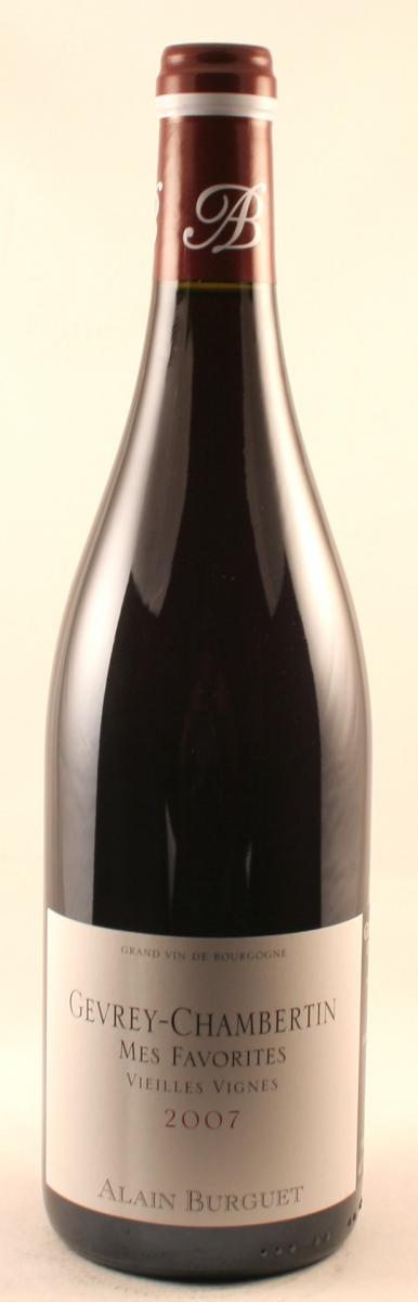 Rode wijn: Burguet-Gevrey-Chambertin Mes-Favorites-VV-2012
