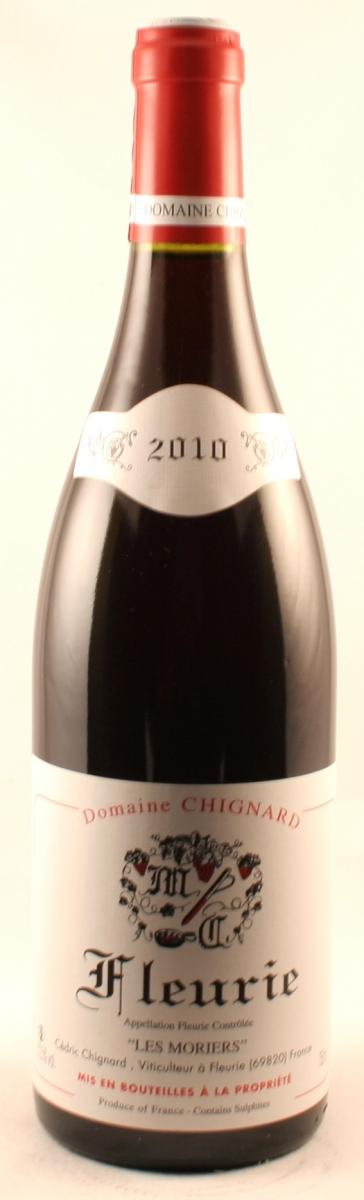 Rode wijn: Chignard Fleurie Les Moriers 2012