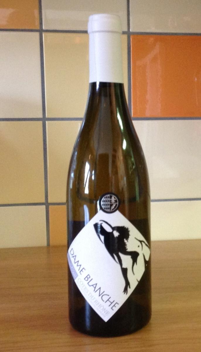 Witte wijn: Domaine de la Charité - Dame Blanche 2015