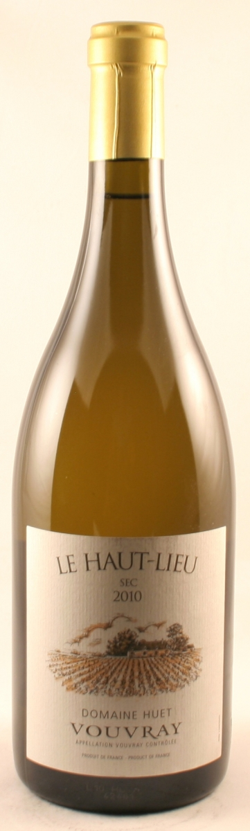 Huet Vouvray Sec Le Haut-Lieu 2010