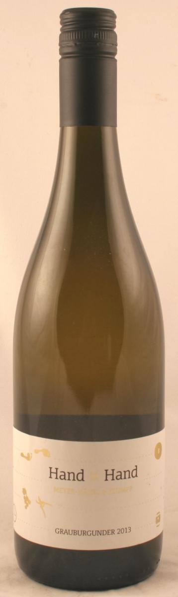 Witte wijn: Klummp Grauburgunder 'Hand in Hand' 2015