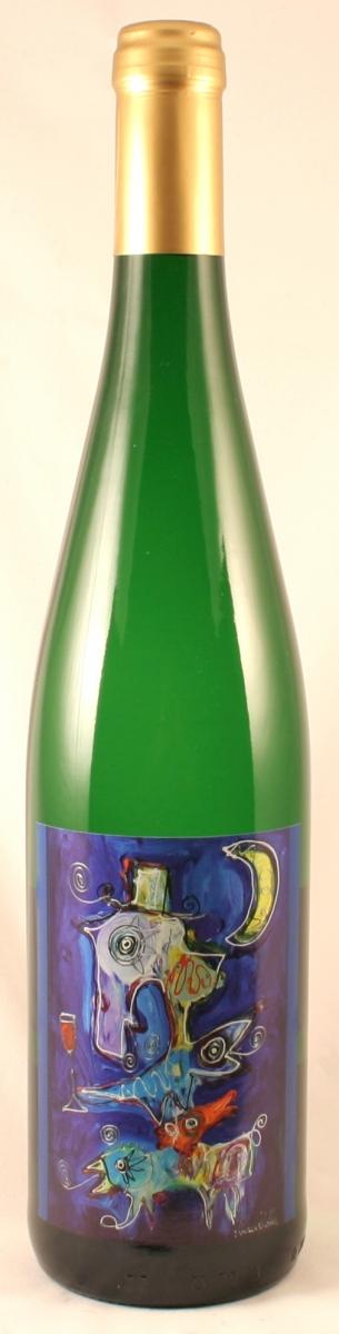 Witte wijn: Krier Rivaner (Kunst etiket) 2014