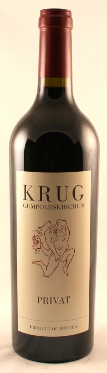 Rode wijn: Krug Cuvee Privat 2012