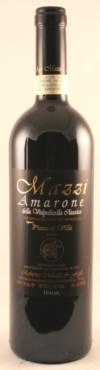 Rode wijn: Mazzi Amarone 2012