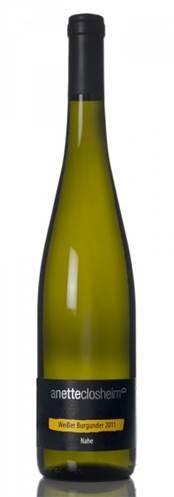 Witte wijn: Annette Closheim Weisser Burgunder 2015