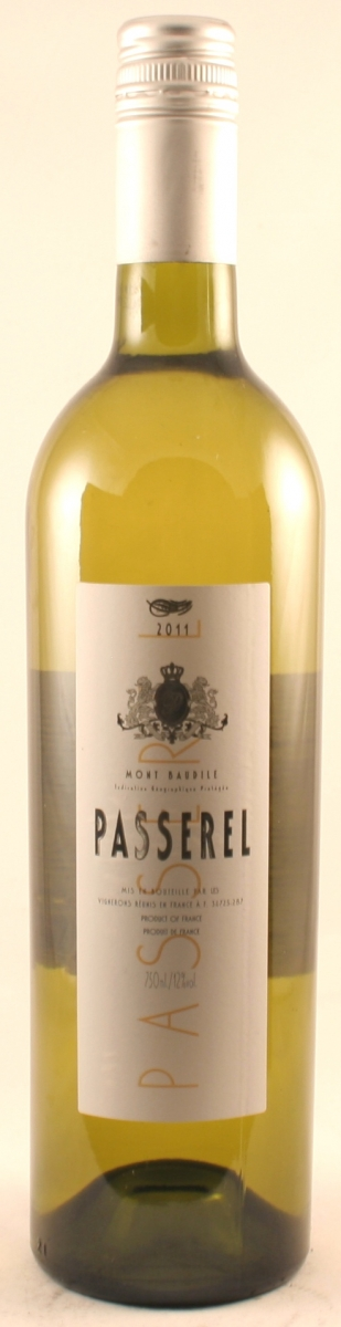 Witte wijn: Passerel Blanc 2016