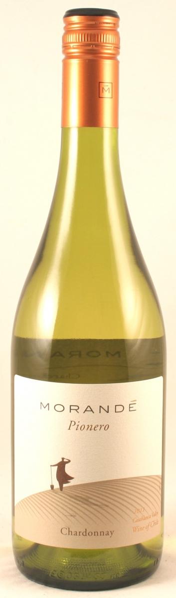 Witte wijn: Pionero chardonnay, Vina Morande 2014
