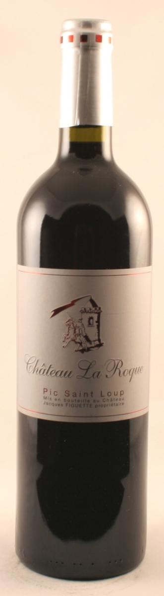 Rode wijn:Le Chateau la Roque Cuvee Pic St. Loup 2013