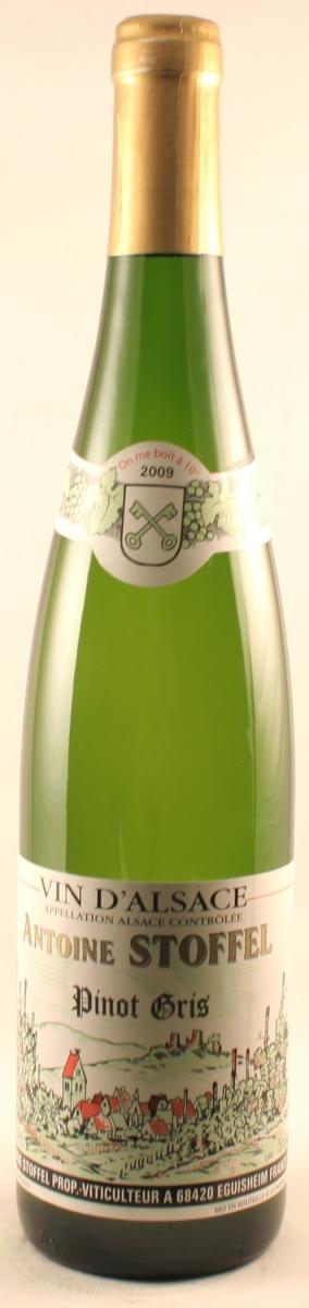 Witte wijn: Stoffel Pinot Gris 2015