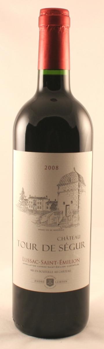 Rode wijn: Tour de Segur, Lussac-Saint-Emilion 2010
