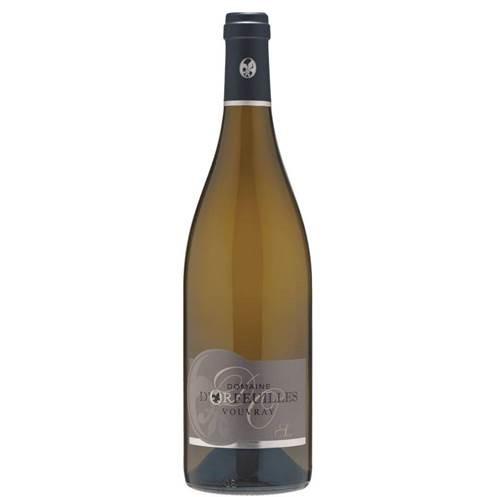 Witte wijn: D'Orfeuilles Vouvray Sec 2014