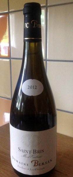 Witte wijn: Bersan Saint Bris Mont Embrassé 2014