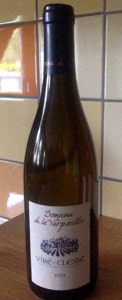 Witte wijn: Verpaille Viré-Clessé Majeure 2012