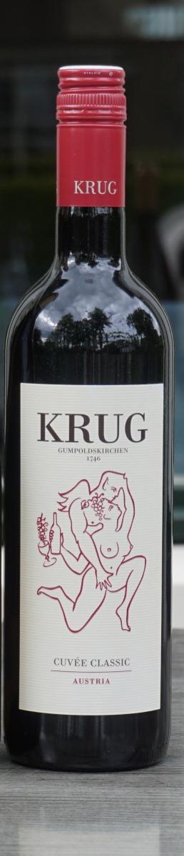 Rode wijn:Krug Cuvée Classic Rood 2018