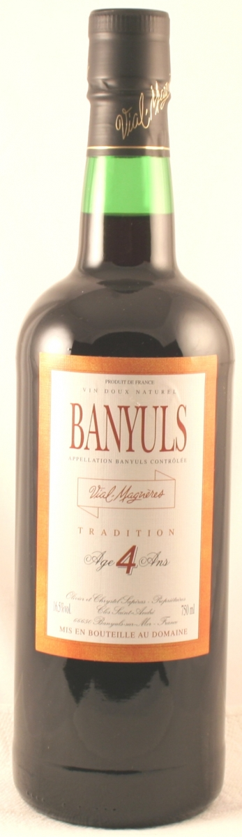 Dessertwijn: Domaine Vial-Magneres Banyuls Tradition Rouge