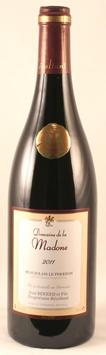 Rode wijn: Domaine La Madone Beaujolais Villages 2016