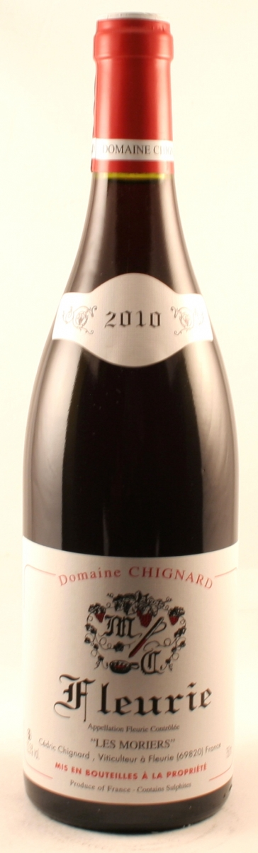 Rode wijn: Chignard Fleurie Les Moriers 2016