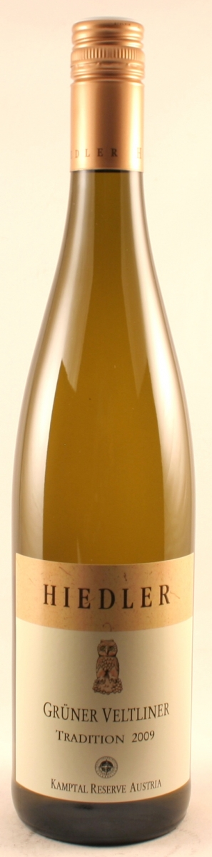 Witte wijn: Hiedler Veltliner Tradition 2017