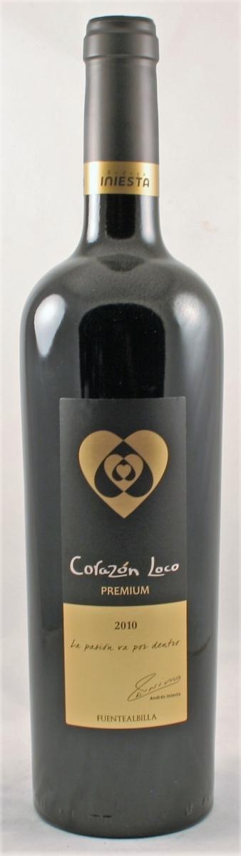 Rode wijn: Bodega Iniesta Premium 2010