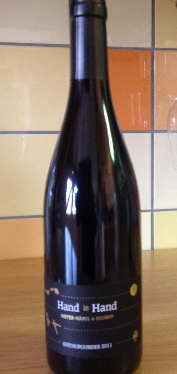 Rode wijn: Klumpp Spatburgunder 'Hand in Hand' 2015