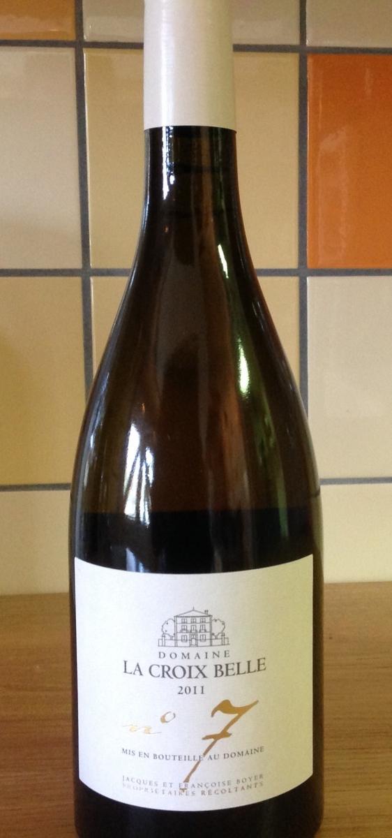 Witte wijn: Domaine la Croix Belle nr. 7 2015