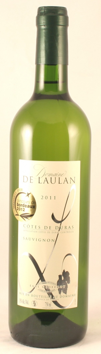 Witte wijn: Domaine de Laulan Sauvignon Blanc 2015