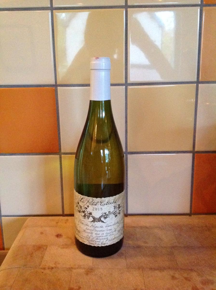 Witte wijn: Le Petit Caboche Sauvignon-Blanc Vaucluse 2015