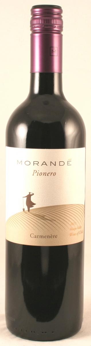 Rode wijn: Pionero carmenere, Vina Morande 2013