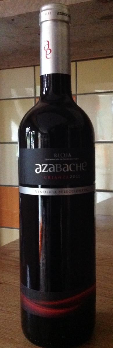 Rode wijn: Azabache Crianza 2014